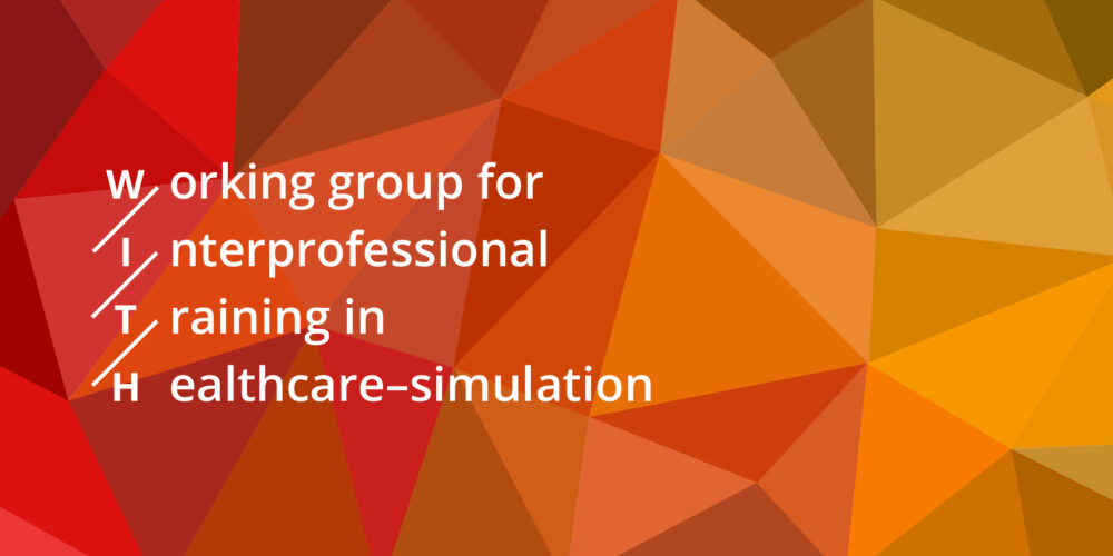 Working group for interprofessional training in healthcare – WITH